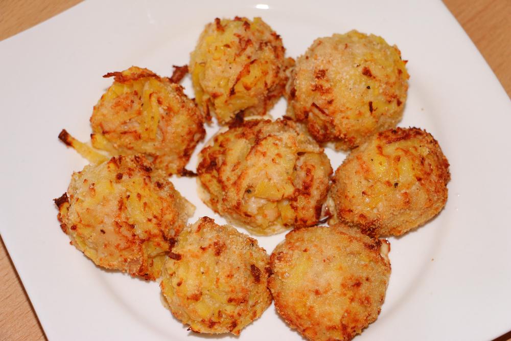 Kartoffel-Thunfisch-Häufchen